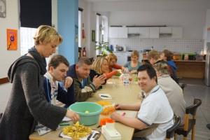 Kochen in der Waldschule